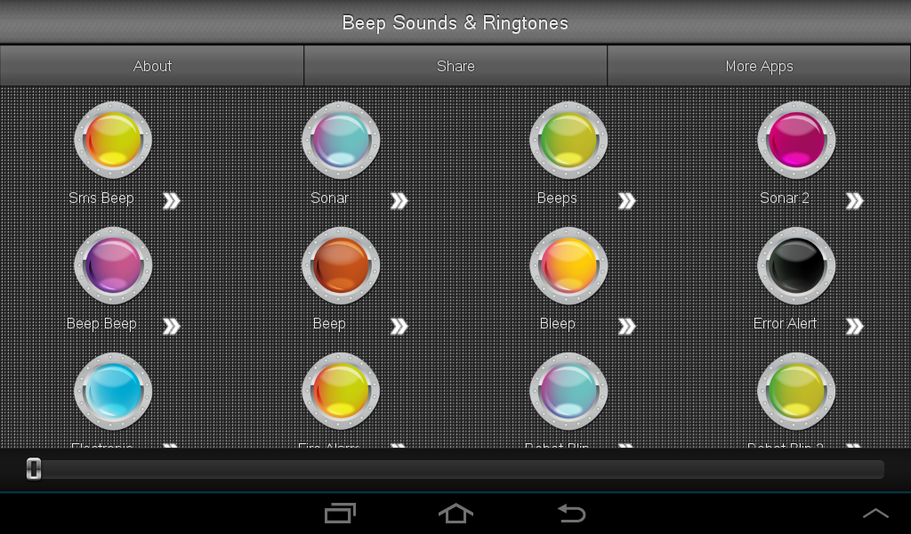 Beep Sounds Ringtones - screenshot