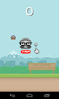 Screenshot of Flappy Hipster