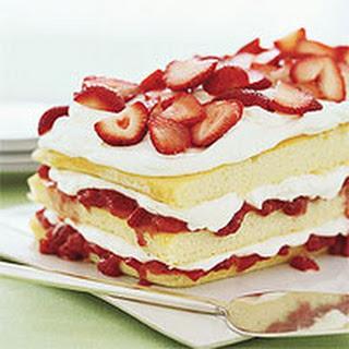 Strawberries 'n' Cream Cake.