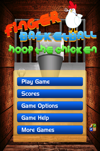 Finger Basketball Hoop Chicken