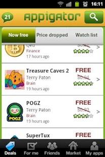 Appigator: Best Free Apps