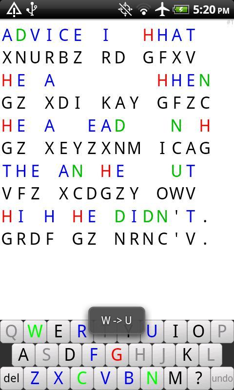 CryptoQuote- screenshot