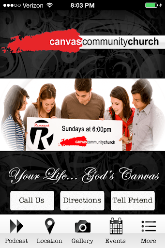 【免費商業App】Canvas Community Church-APP點子