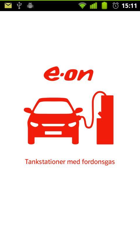 Fordonsgas- screenshot