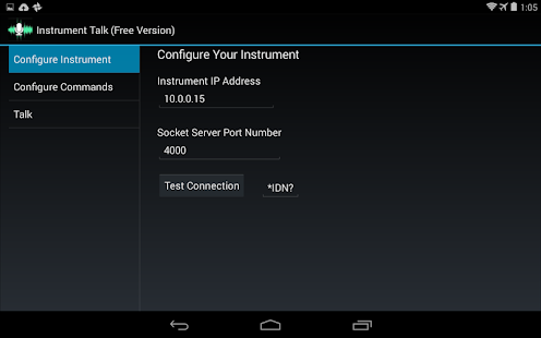 Instrument Talk Free screenshot