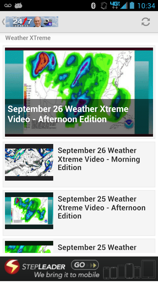 James Spann 24/7 - screenshot