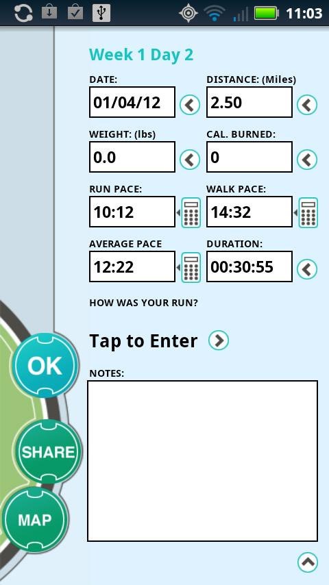 Ease into 10K (EI10K)- screenshot