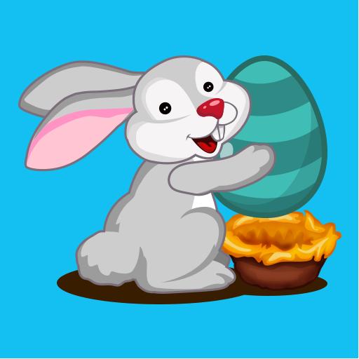 兔复活节彩蛋射击游戏 休閒 App LOGO-硬是要APP