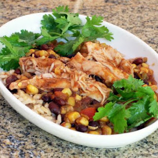 Slow Cooker Chicken Thighs, Tex-Mex Style