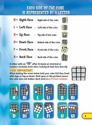 Rubik's cube solution - screenshot