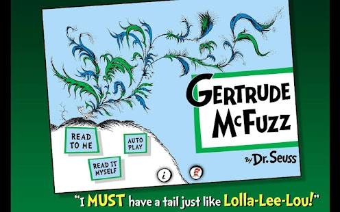 Gertrude McFuzz - Dr. Seuss- screenshot thumbnail