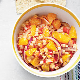 Smoky Orange-Jicama Salsa