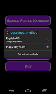 Purple Keyboard - screenshot thumbnail