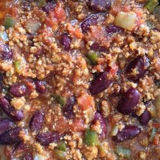 Slow-Cooked Chili.