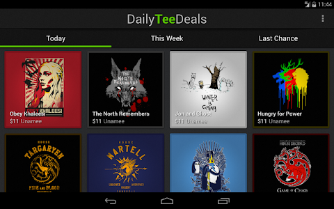 Daily Tee Deals screenshot 4