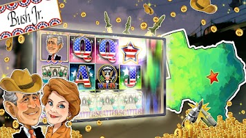Screenshot of SLOTS: Obama Slot Machines