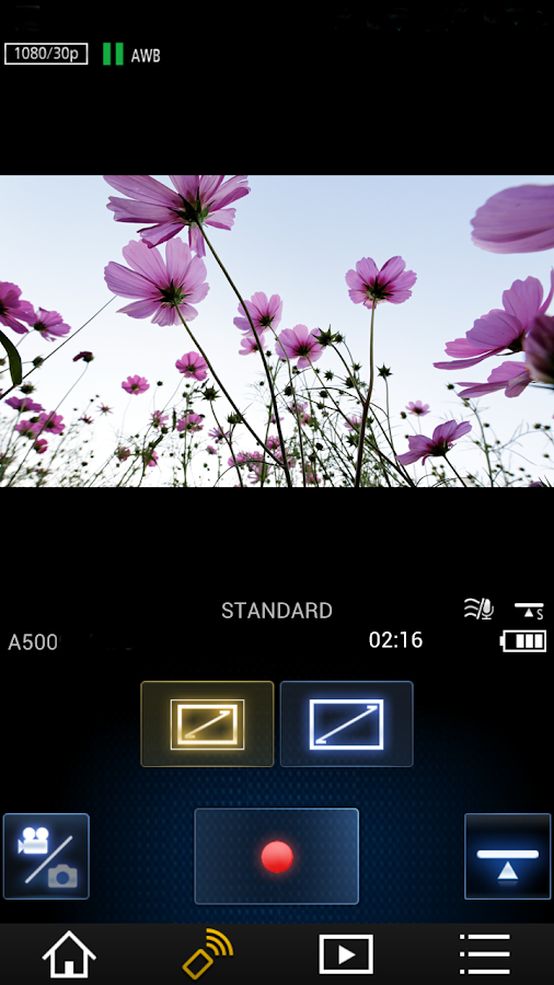 Panasonic Image App- screenshot