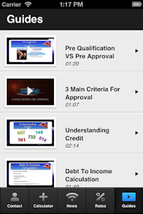Lynn Posselt's Mortgage Mapp - screenshot thumbnail