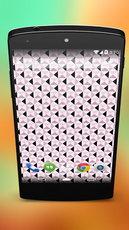 Mosaic Triangle Tiles Pattern- screenshot