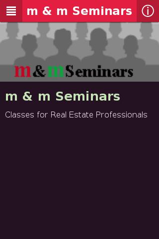 m m Seminars