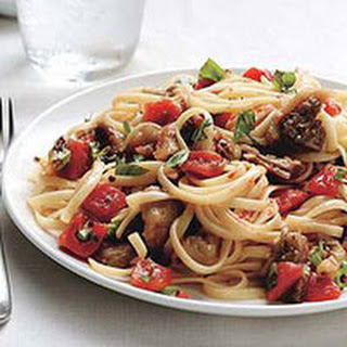Linguine with Eggplant Ragout
