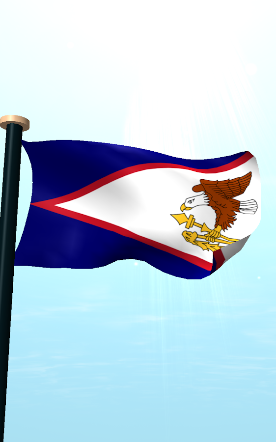 American Samoa Flag 3D Free  Android Apps on Google Play