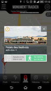 Cannes Guide Monument Tracker- screenshot thumbnail