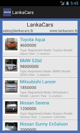 【免費商業App】Lanka Cars-APP點子