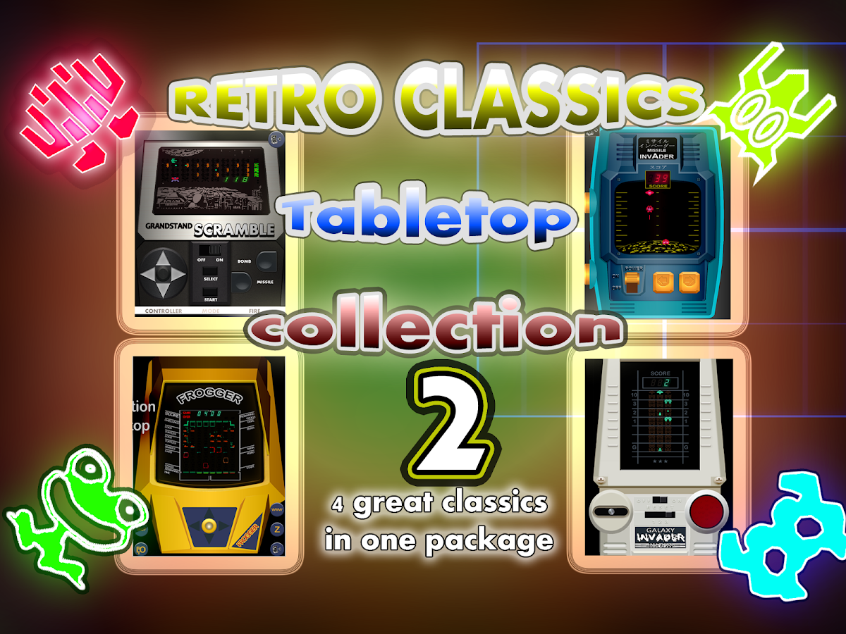 RETRO CLASSICS: TABLETOPS 2- screenshot
