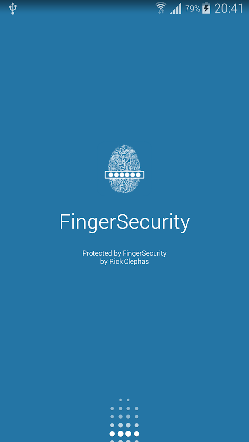 FingerSecurity - screenshot