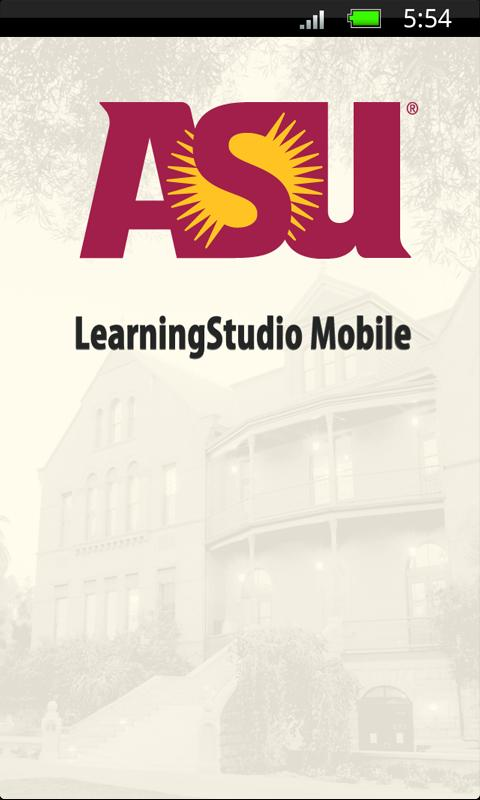 ASU LearningStudio Mobile - screenshot