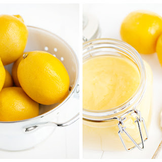 Microwave Lemon Curd.