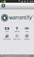 Screenshot of Warrantify