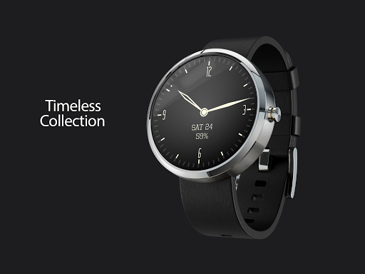 Timeless-White Watch Face