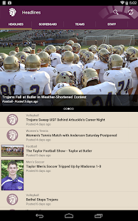 Taylor Trojans- screenshot thumbnail