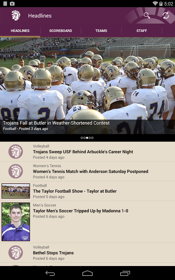 Taylor Trojans- screenshot
