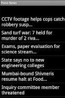 Screenshot of Pune India News