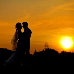 Andrei si Patricia by Ciprian Alin - Wedding Bride & Groom ( canon, 5d matk ii, iso 100, 85mm,  )