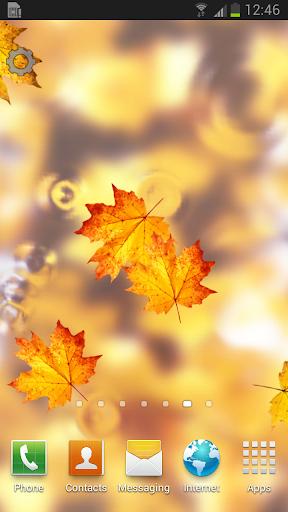 Autumn Pond Live Wallpaper