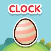 StarPet Clock Widget - Pink st