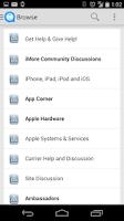 Screenshot of iMore Forums