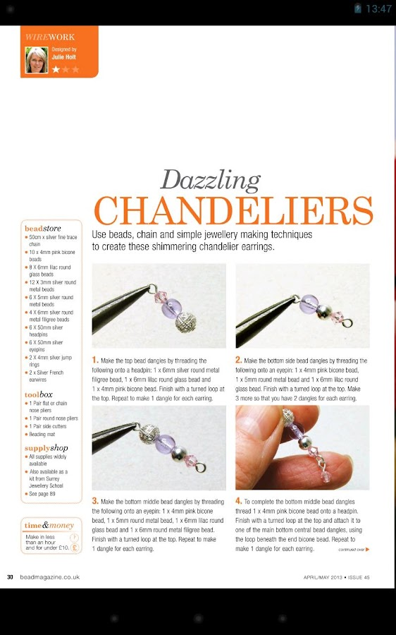 Bead Magazine- screenshot