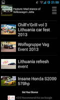 Screenshot of Stanced Cars Wallpapers