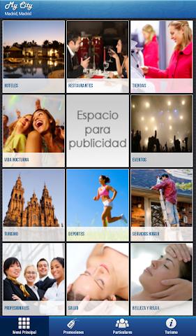 Screenshots for MyCity APP Spain