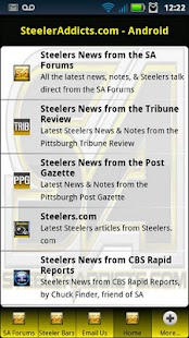 SteelerAddicts - Steelers News - screenshot thumbnail
