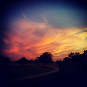 Sunset from about 8 months ago! by Jonathan Brasch - Instagram & Mobile Android ( sunset, sunsets, beautiful, gorgeous, cloud, clouds, pink, colorful, nature, scenic, crazyclouds, scenery, spectacular, photogenic,  )