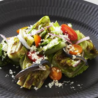 Grilled Romaine Salad.