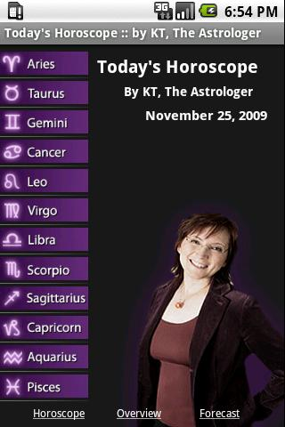 Today's Horoscope by KT- screenshot