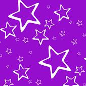 Purple Star Keyboard Skin