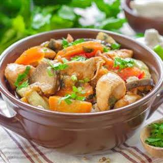 Italian Pot Roast with Artichokes and Potatoes.